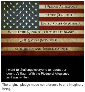 contraversial pledge of allegiance essay The pledge of allegiance is an important tradition of american education that dates back to the early 1890s when james upthe pledge of pledge of allegiance essay.